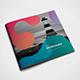 Square Colorful Corporate Brochure