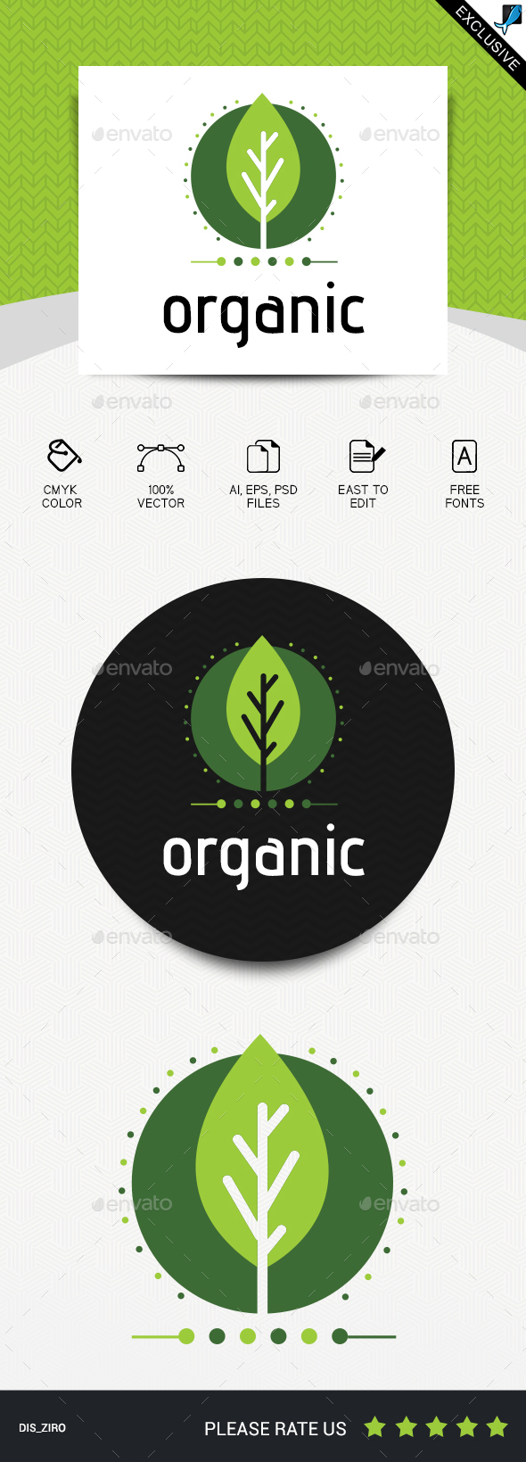 Organic - Abstract Logo Templates