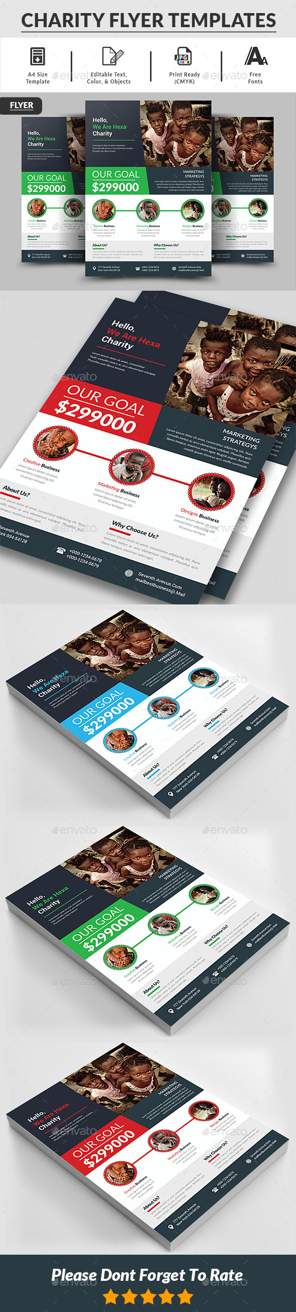 Charity Flyer Templates - Corporate Flyers