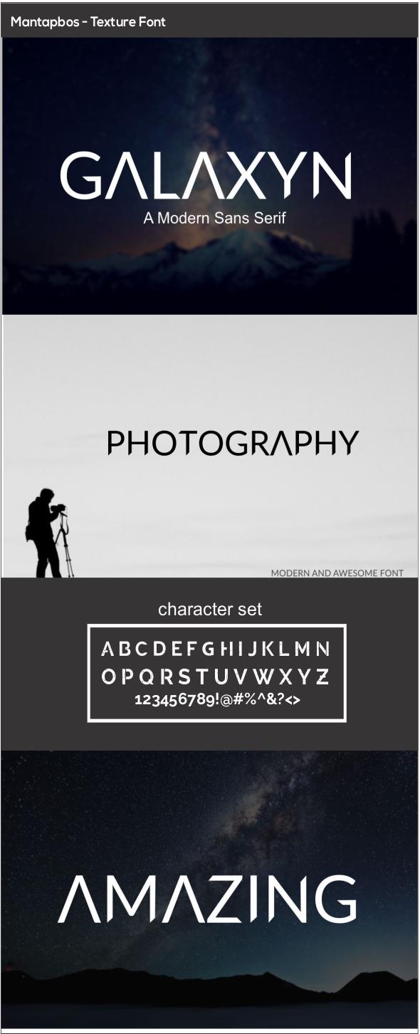 GraphicRiver GALAXYN Modern Sans Serif 20740057