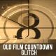 Glitch Film Countdown - VideoHive Item for Sale