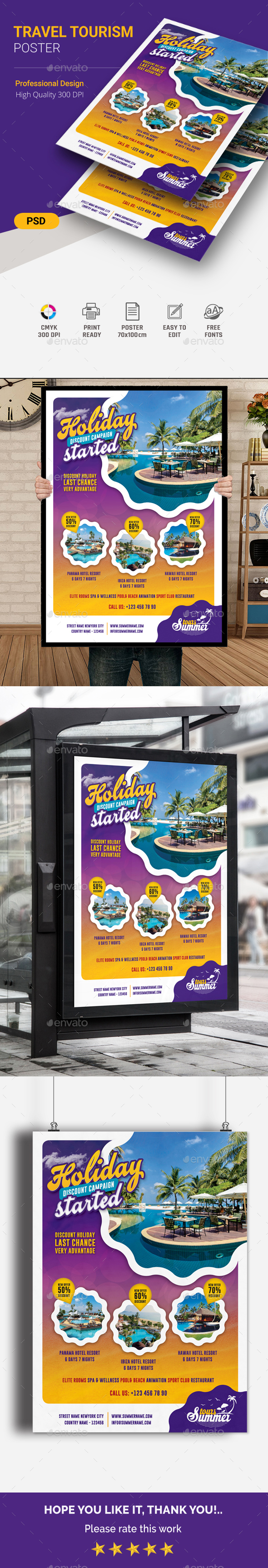 GraphicRiver Travel Poster 20740322