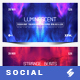 Electronic Music Party vol.34 - Facebook Post Banner Templates - GraphicRiver Item for Sale