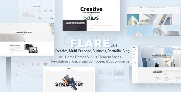 Flexible Multipurpose Theme | Flare - Creative WordPress