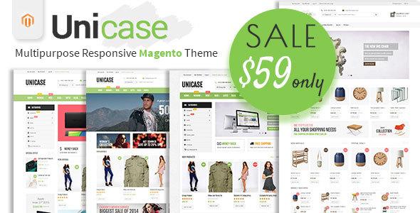 Image of Unicase - Multipurpose Responsive Magento Theme