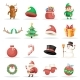 Christmas New Year Winter Icons