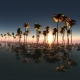 Aerial VR 360 Panorama of Tropical Island at Sunset - VideoHive Item for Sale