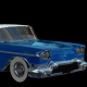 Classic Blue Car Transforming - VideoHive Item for Sale
