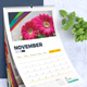 2018 Calendar Design Template | Wall and Desk / Table Calendar 2018 - GraphicRiver Item for Sale