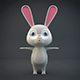 Cartoon Rabbit - 3DOcean Item for Sale