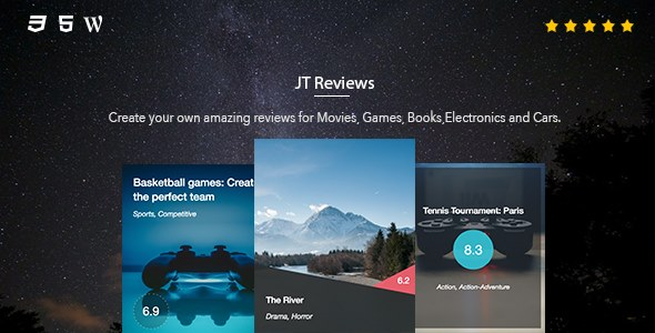 JT Reviews - CodeCanyon Item for Sale