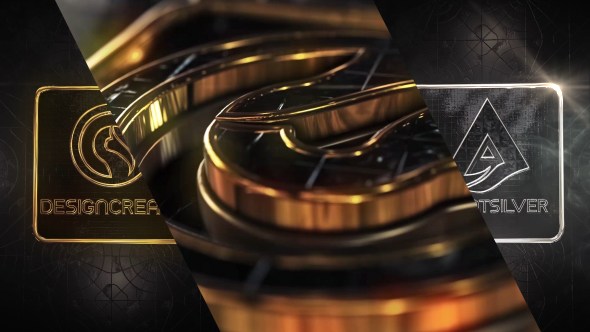 Videohive Diamonds Gold & Silver Logo 20741130
