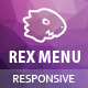 Rex Menu - Responsive jQuery Mega Menu - CodeCanyon Item for Sale