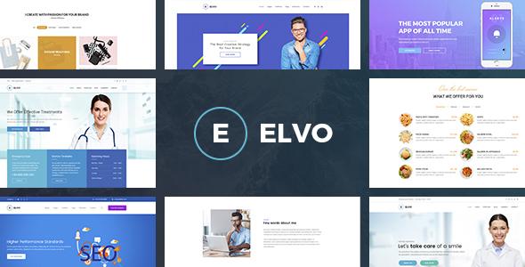 ThemeForest ELVO Business Multipurpose PSD Template 20741286