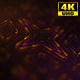 4K Sci-fi Futuristic Background Pink and Yellow Stars 3