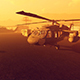 Helicopters In The Desert - VideoHive Item for Sale