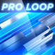 Sliding Neon Pillars V1 - Professional VJ Background Loop - VideoHive Item for Sale