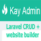 KayBuilder - Laravel admin panel, CRUD, frontend + template installation support.