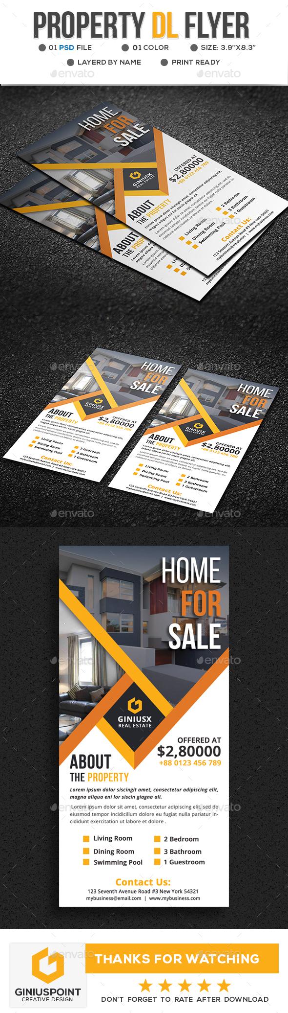 GraphicRiver Property DL-Flyer 20741500