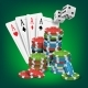 Casino Poker Design Vector