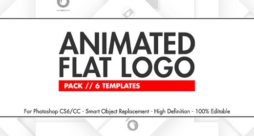 Animated Flat Logo Pack - Audio Files
