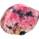 polished pink rhodonite gemstone isolated - PhotoDune Item for Sale