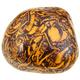 tumbled Mariam Stone gemstone isolated on white - PhotoDune Item for Sale