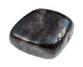 tumbled Anthophyllite gemstone isolated