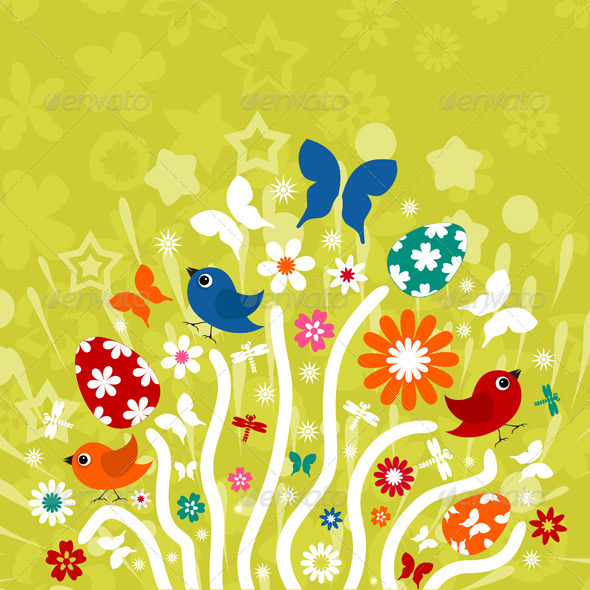 Easter background3 - Miscellaneous Seasons/Holidays
