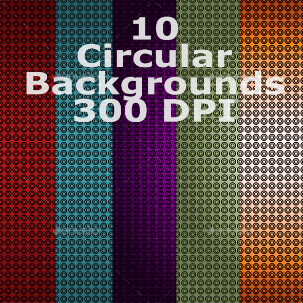 Circular Backgrounds - Patterns Backgrounds