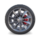 Tesla Model X Wheel and Brake