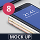 Phone 8 Mockup - GraphicRiver Item for Sale