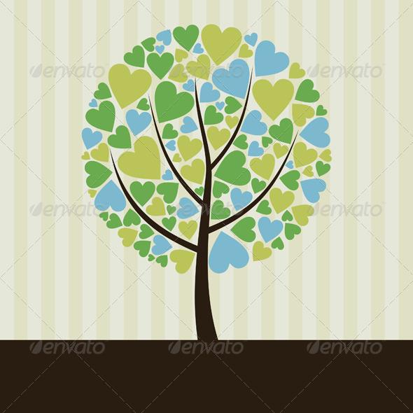 Love Tree 2 - Flowers & Plants Nature