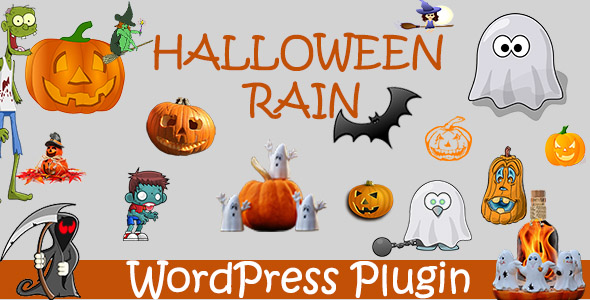Halloween Rain - Wordpress Plugin - CodeCanyon Item for Sale