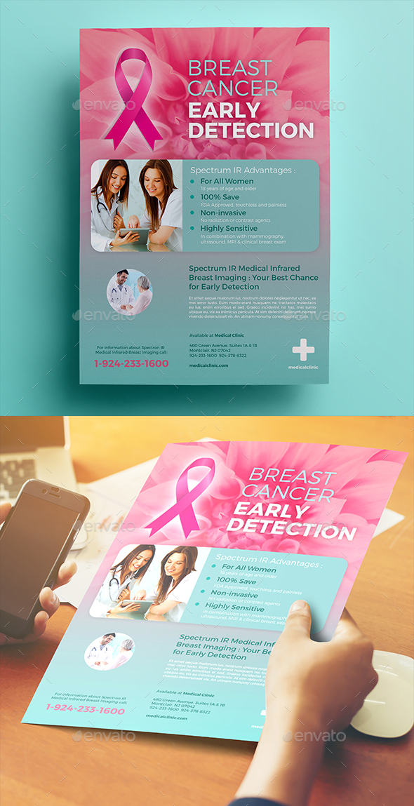 Breast Cancer Flyer 02 - Commerce Flyers