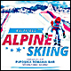Alpine Skiing Poster/Flyer - GraphicRiver Item for Sale