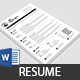 Clean Resume & Cover Letter - GraphicRiver Item for Sale