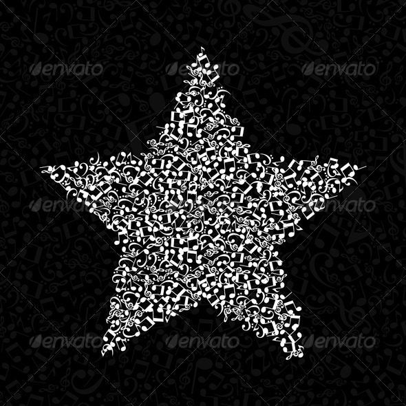 Musical Star 2 - Miscellaneous Vectors