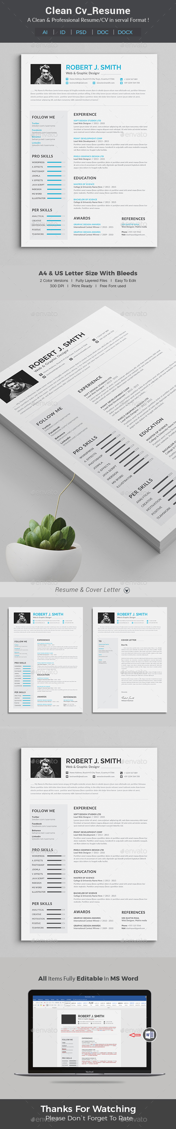 resume word by themedevisers