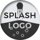 Minimal Splash Logo - VideoHive Item for Sale