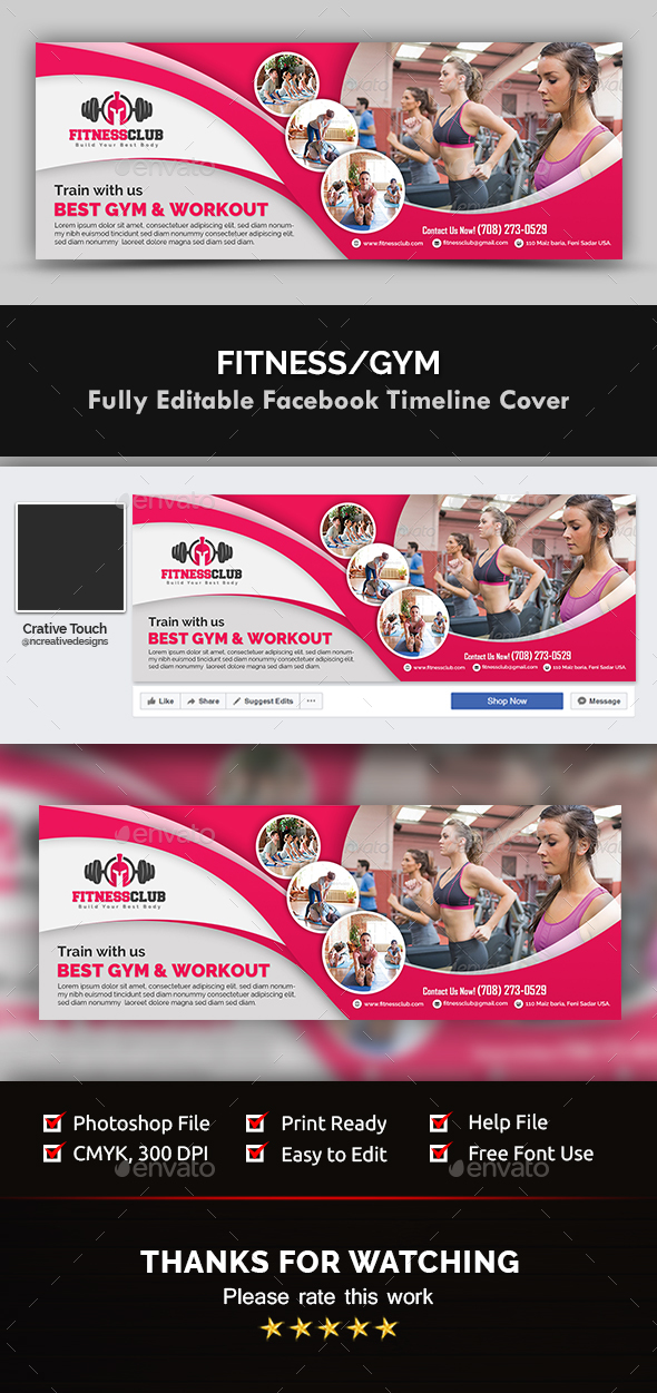 GraphicRiver Facebook Timeline Cover Templates 20744545