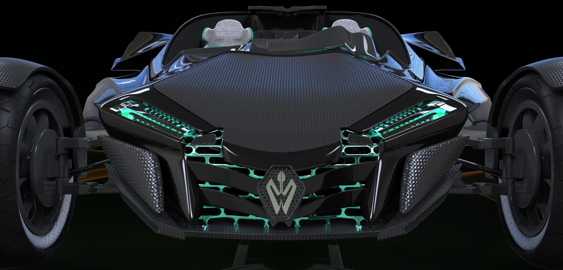 Trike Efa Concept By 7art 3docean
