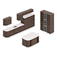Kitchen Furniture Set 1