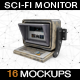Sci-fi Monitor MockUp - GraphicRiver Item for Sale