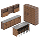 Kitchen Furniture Set 3
