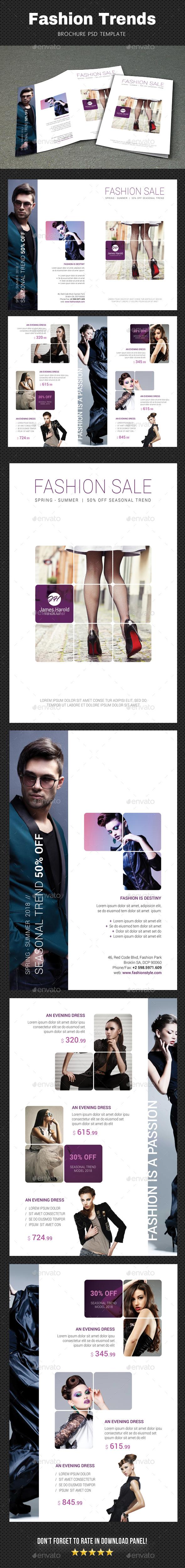 Fashion Brochure 2 - Brochures Print Templates