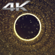 Particle Space Gold Hole - VideoHive Item for Sale