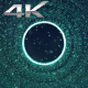 Particle Space Green Hole - VideoHive Item for Sale