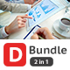 D Bundle 2 in 1 Power Point Presentation - GraphicRiver Item for Sale