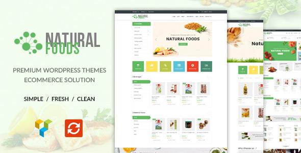 NaturalFood - Responsive WooCommerce WordPress Theme